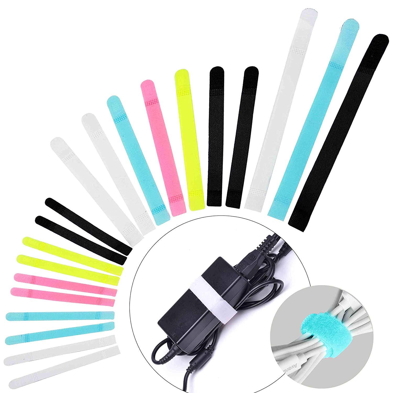avantree reusable cord organizer wrap 50 pack