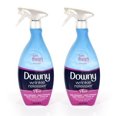 downy wrinkle release spray