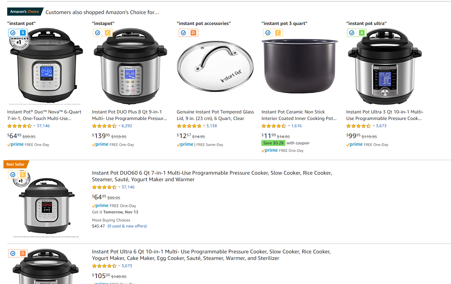 32 things to keep in your car — amazon fakespot screenshot